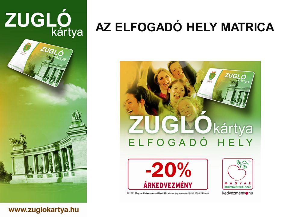 AZ ELFOGADÓ HELY MATRICA