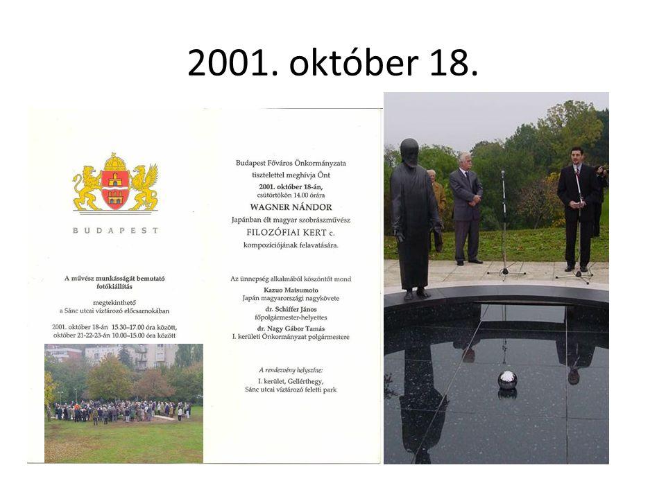 2001. október 18.