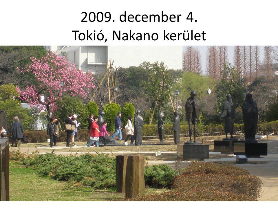 2009. december 4. Tokió, Nakano kerület