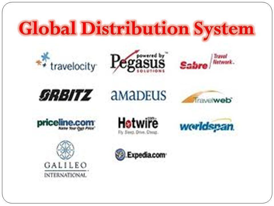 Nemzetközi foglalási rendszerek GDS Travel Agent Systems  Sabre GDS (US, CA, EU)  Amadeus GDS (AU, EU, SA, US)  Apollo GDS (US, CA)  Galileo GDS (AU, EU, NZ)  WorldSpan GDS ( EU, US)  Pegasus (Online Distribution) Internet Travel Systems  Travelocity (Sabre GDS)  Expedia (WorldSpan GDS)  TravelNow (Sabre GDS)  Orbitz (Pegasus)  AOL Travel (Sabre GDS)  Yahoo Travel (Sabre GDS)  Lodging.com (Galileo GDS)  Travel.com (TravelNow)  TravelWeb (Pegasus)  Cheap Ticket (Pegasus)  Hotels.com (Sabre GDS)  1,000 s More (Pegasus)