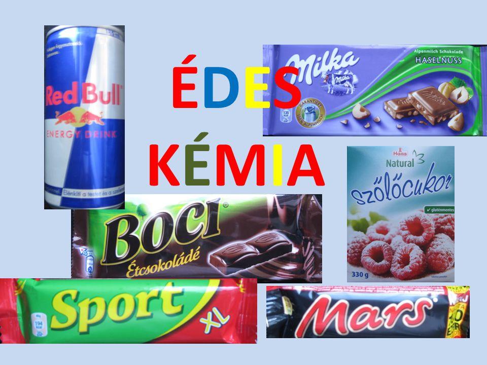 Mesterséges édesítőszerek = ÉDES ÍZŰ VEGYSZEREK • Feltalálásuk véletlen kémiai kísérletek eredménye (lapozás).