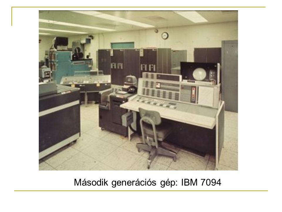 Második generációs gép: IBM 7094