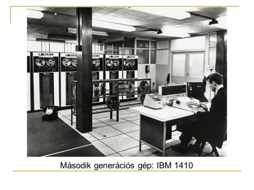 Második generációs gép: IBM 1410