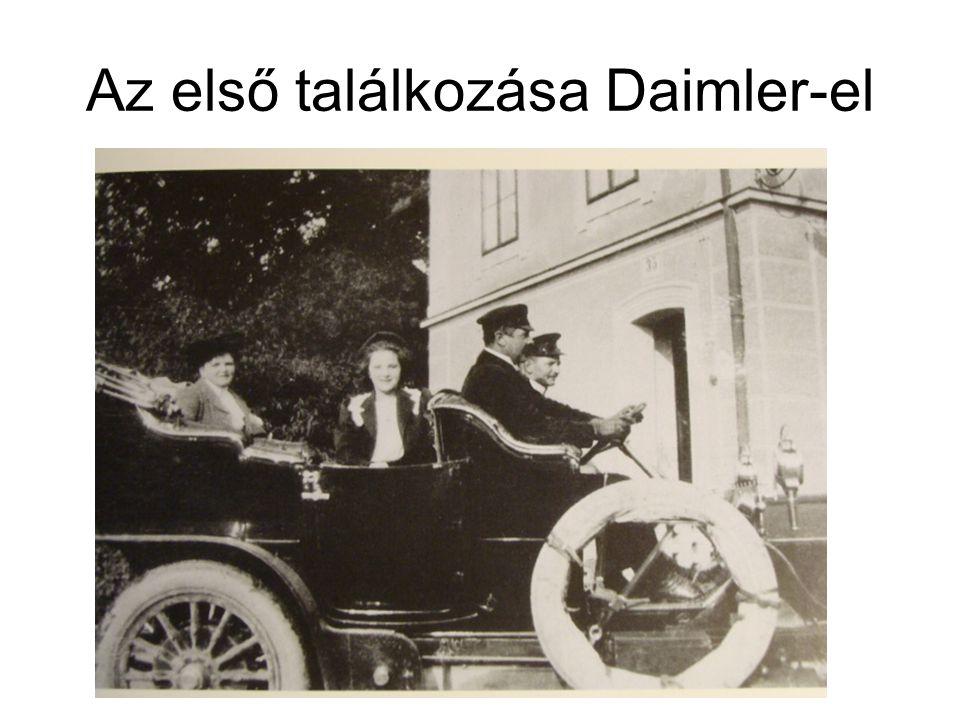 Az első találkozása Daimler-el