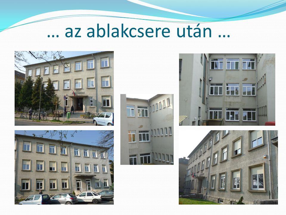 … az ablakcsere után …