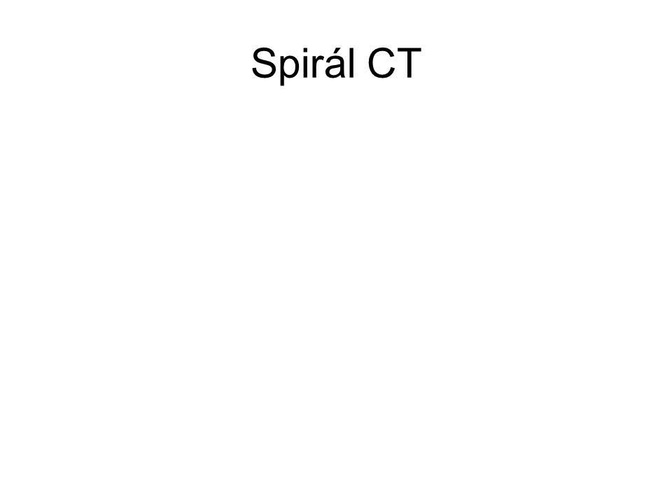 Spirál CT