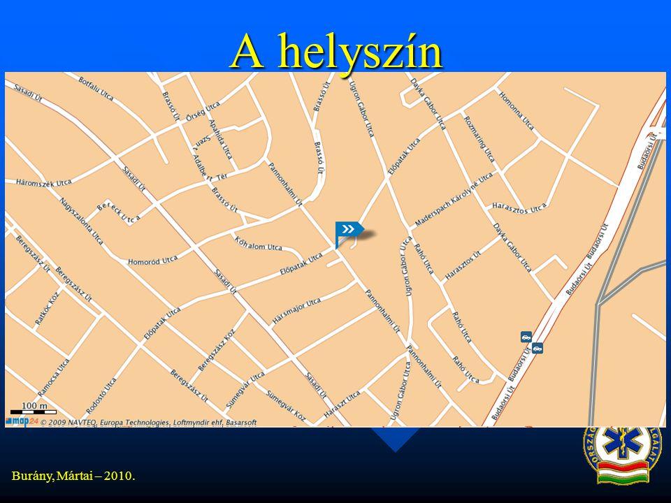 Burány, Mártai – 2010. A helyszín