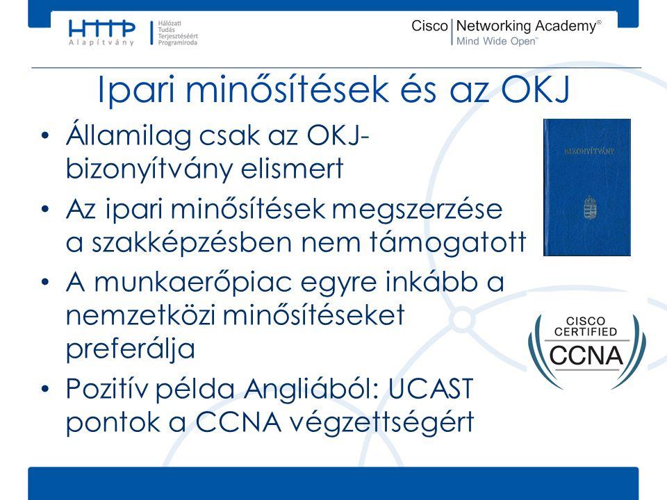 Ipari minősítések és az OKJ • Államilag csak az OKJ- bizonyítvány elismert • Az ipari minősítések megszerzése a szakképzésben nem támogatott • A munka