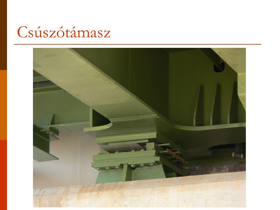 Összetett szerkezetek: rácsos tartók  Definíció: Rácsos tartónak nevezzük az olyan összetett szerkezeteket, amelyeknek elemeit  egymáshoz csakis a két végén elhelyezett csuklók,  a földhöz csuklók és/vagy görgők, támasztórudak kapcsolják.