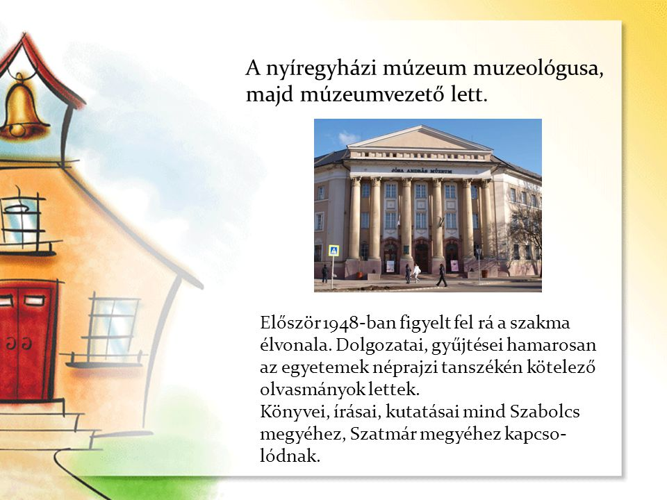 2009-ben volt iskolánk ünnepélyes névadója, amikor is Németh Péter, a Jósa András Múzeum nyugalmazott igazgatója méltatta Nyárády Mihály munkásságát.