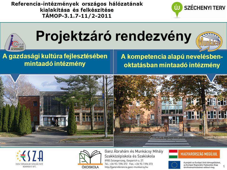 22 A projektek képekben ESZKÖZBESZERZÉS