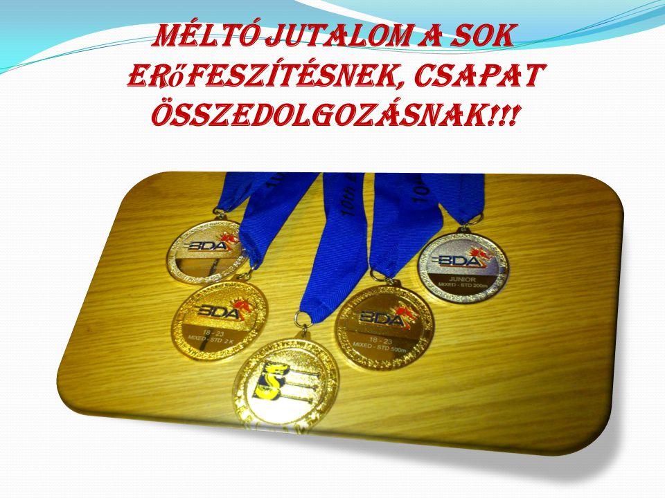 2012. Anglia/Notthingami Európa Bajnokság  U23 mix 200m  1.hely  U23 mix 500m  1.hely  U23 mix 2000m  1.hely  U18 mix 200m  2.hely  U18 mix 5