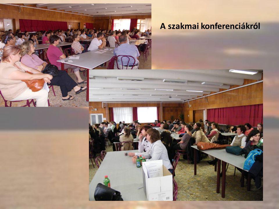 A szakmai konferenciákról