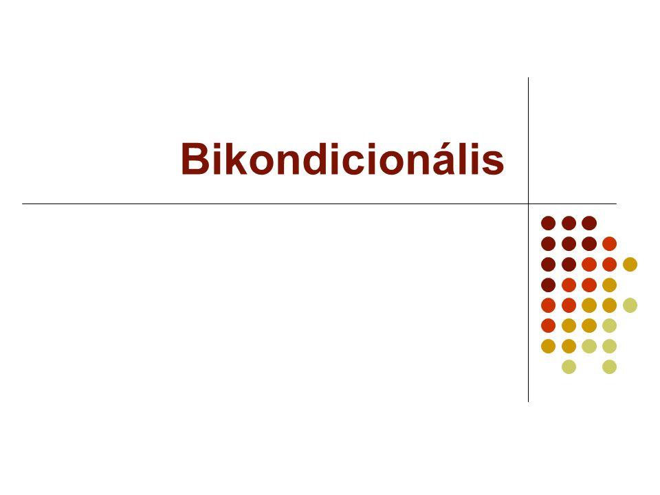 Bikondicionális