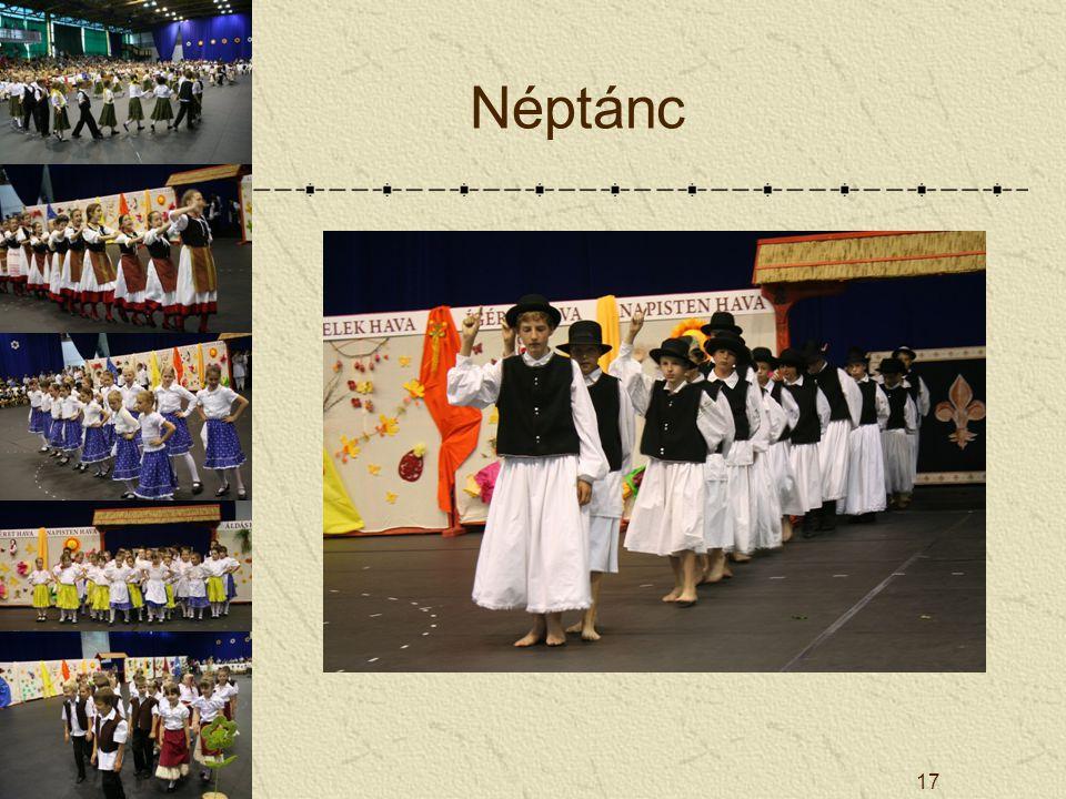 17 Néptánc