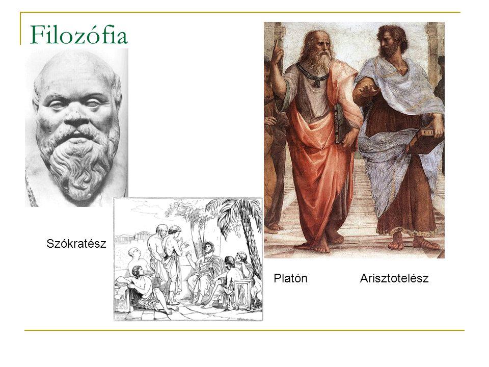 Filozófia Szókratész PlatónArisztotelész