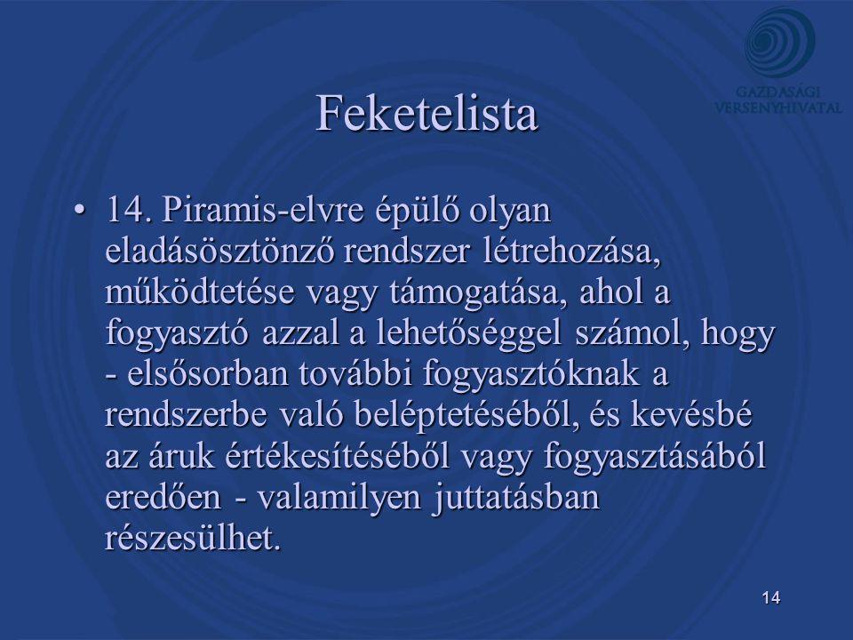 14 Feketelista •14.