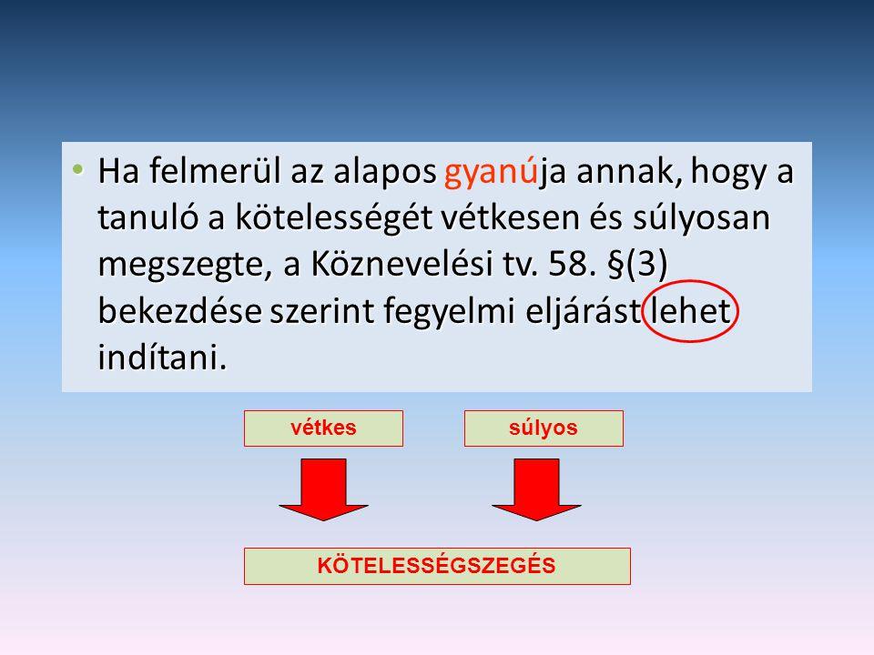 Egyeztető eljárás Az egyeztető eljárás célja:  a kötelességszegéshez elvezető események feldolgozása, értékelése,.