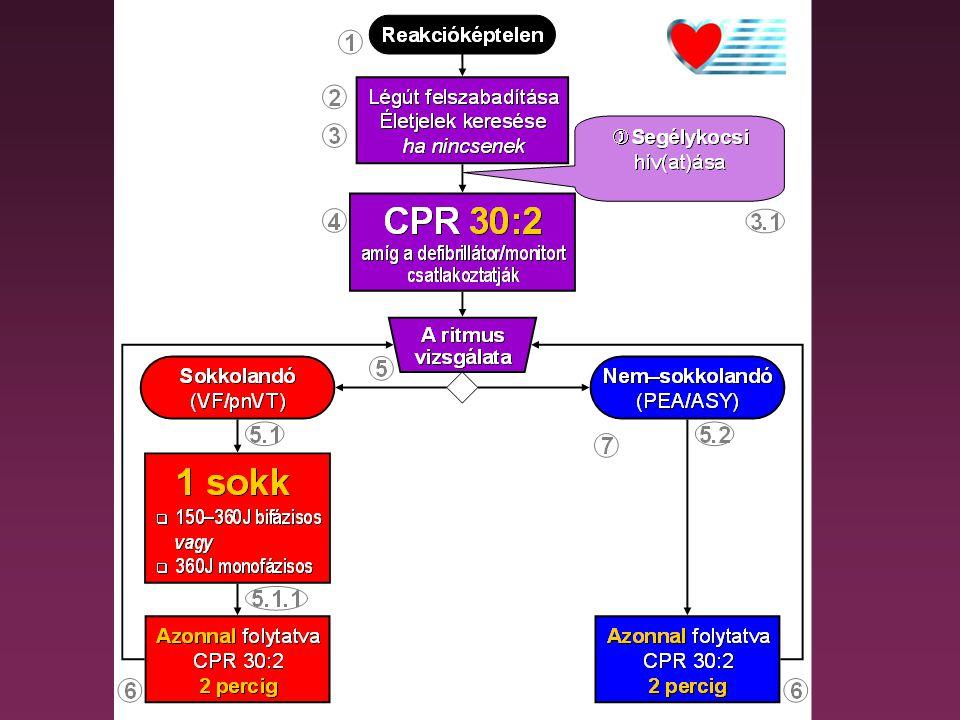 """""""Új CPR"""" (2): •a régi sem rossz, de •az új jobb •(hisszük ma)"""
