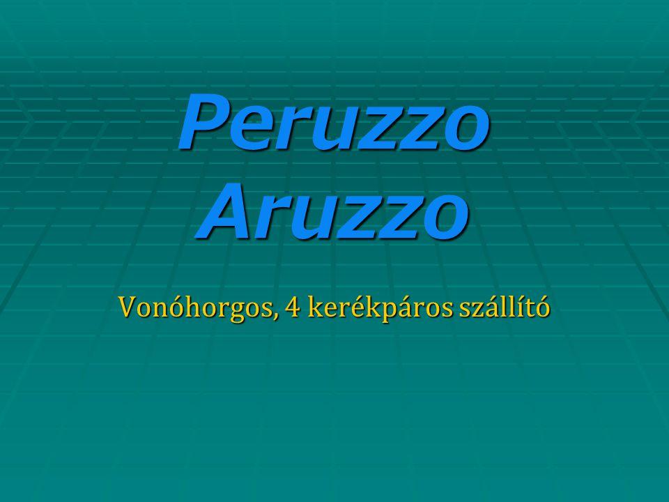 Peruzzo Aruzzo Vonóhorgos, 4 kerékpáros szállító