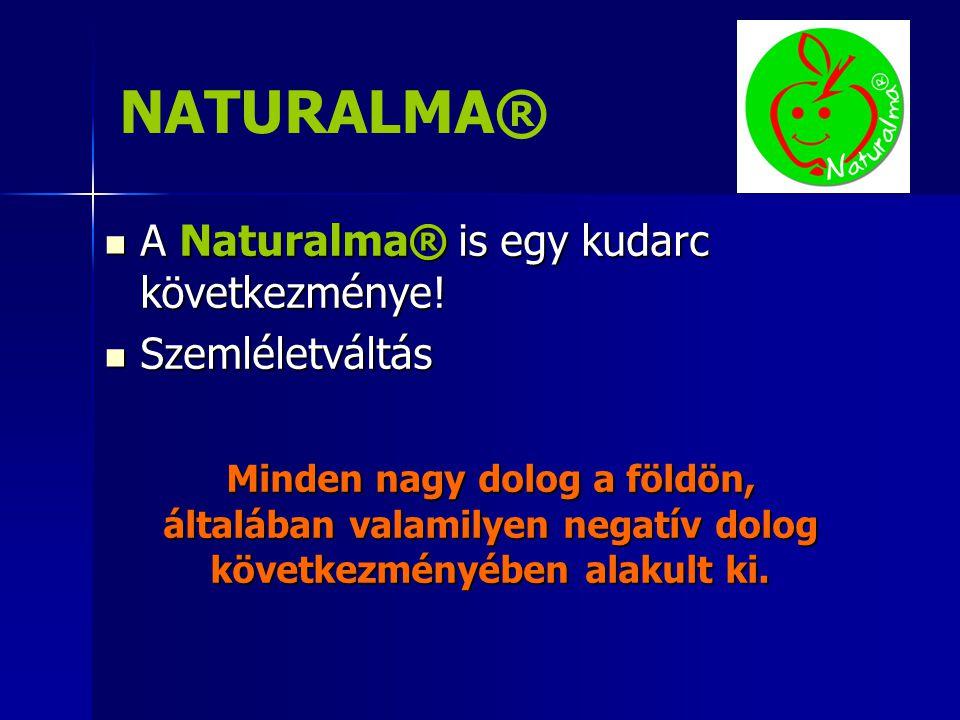 NATURALMA®  A Naturalma® is egy kudarc következménye.