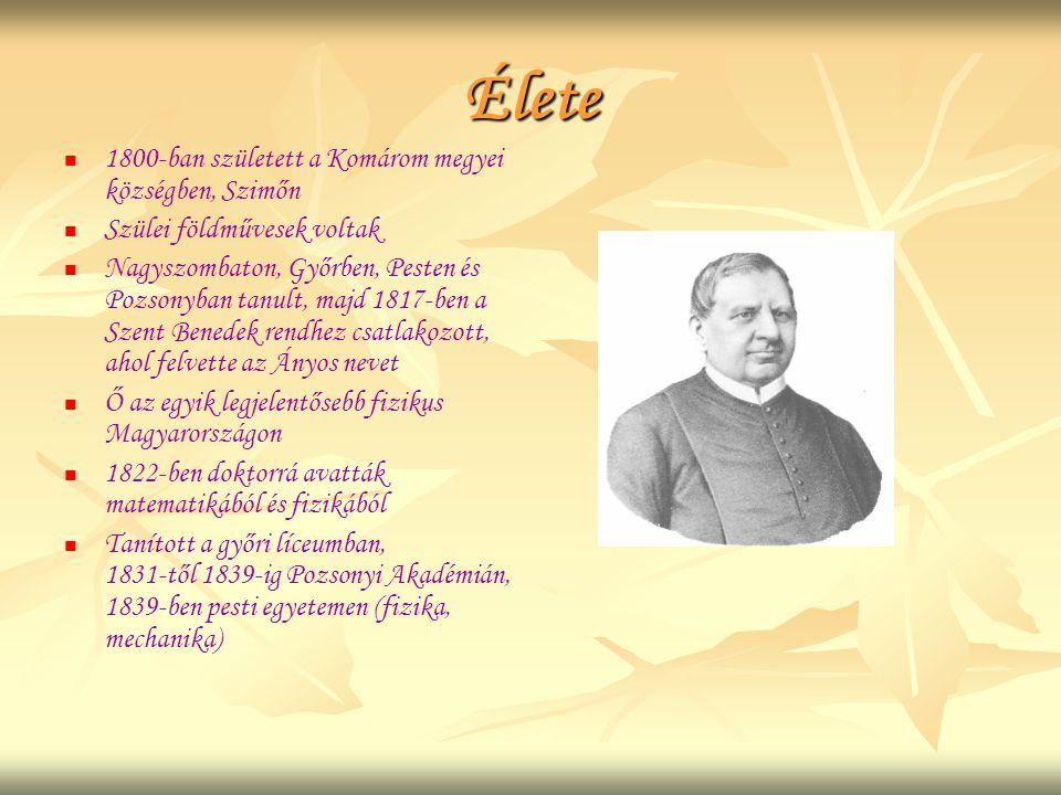 Élete   1800-ban született a Komárom megyei községben, Szimőn   Szülei földművesek voltak   Nagyszombaton, Győrben, Pesten és Pozsonyban tanult,