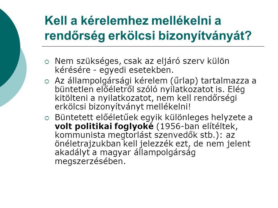Magyar igazolvány is elfogadható igazoló dokumentumként.