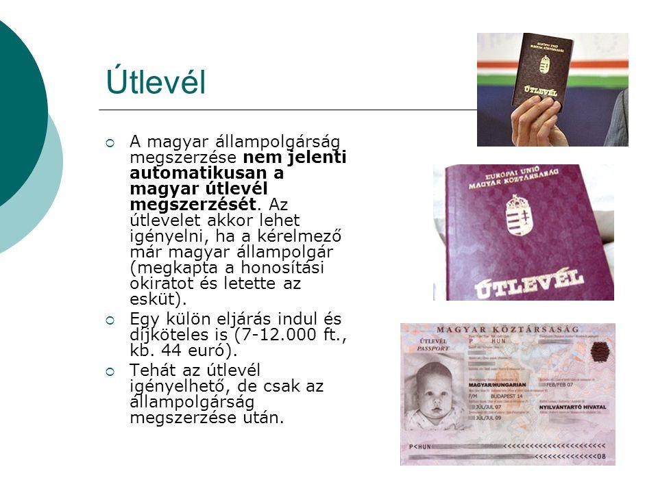 Szociális ellátás  Tudom kezeltetni magam magyarországi kórházban az állampolgárság megszerzése után.