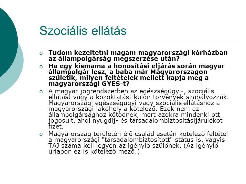 Ha megkapom a magyar állampolgárságot, elveszítem a jelenlegi állampolgárságom.