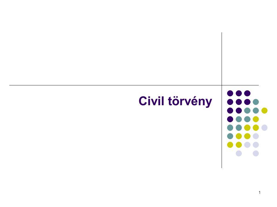 1 Civil törvény