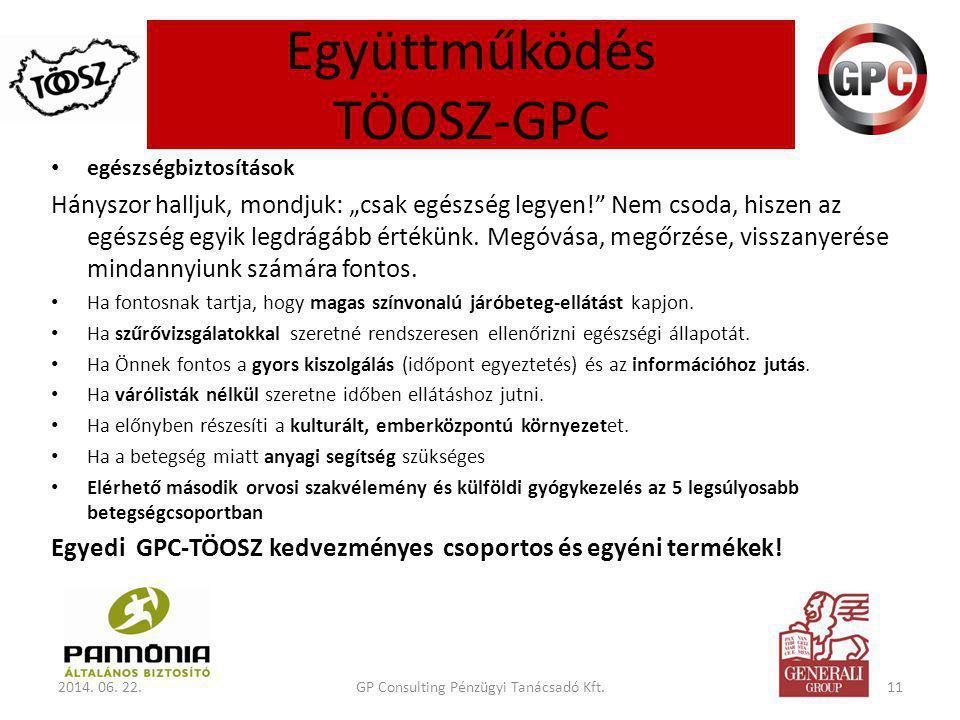 Együttműködés TÖOSZ-GPC 2014.06.