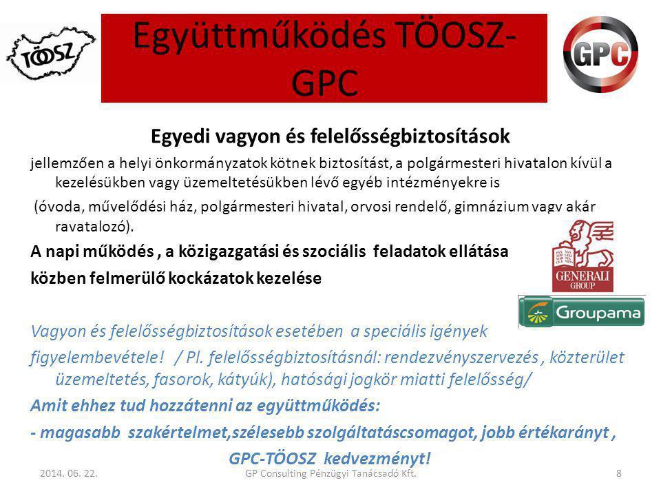 Együttműködés TÖOSZ- GPC 2014.06.