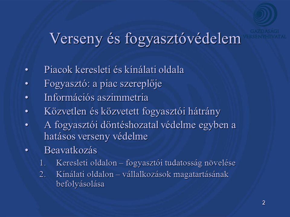 3 Új jogszabályi környezet •Fttv.és Grt. hatályba lépése, Tpvt.