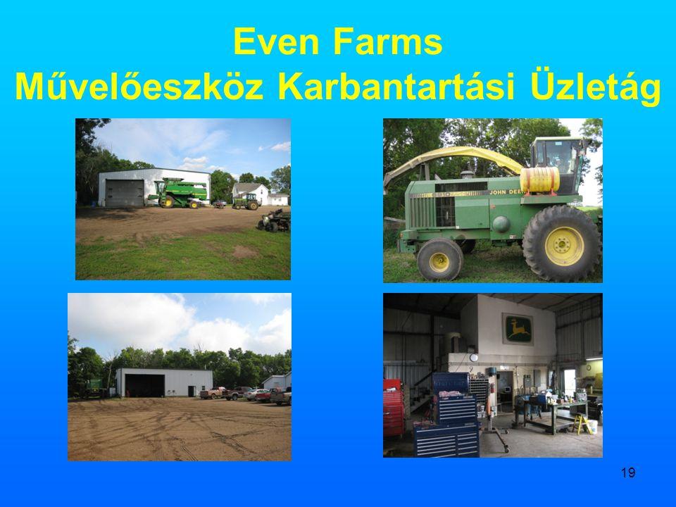 19 Even Farms Művelőeszköz Karbantartási Üzletág