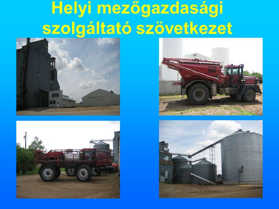 24 Helyi mezőgazdasági szolgáltató szövetkezet