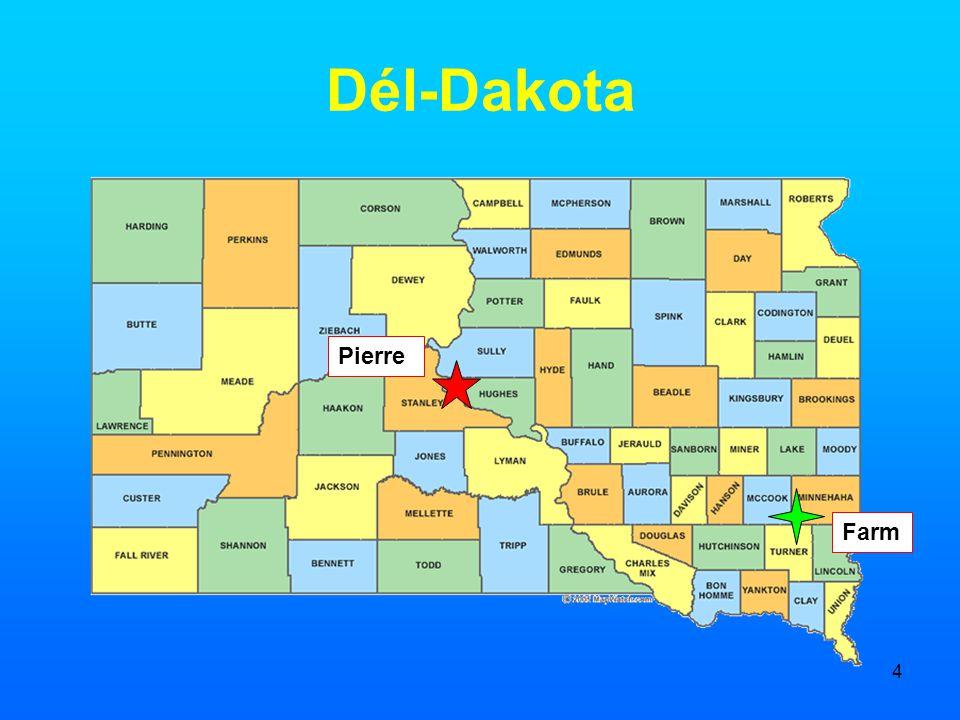4 Dél-Dakota Pierre Farm
