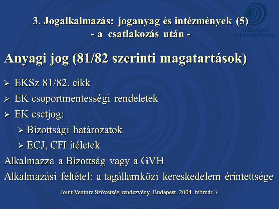 Joint Venture Szövetség rendezvény, Budapest, 2004.