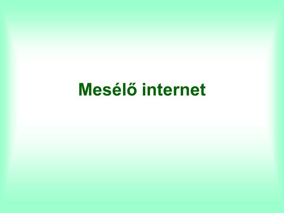Mesélő internet