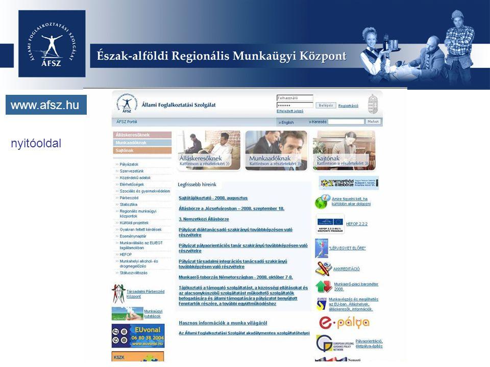 www.afsz.hu nyitóoldal