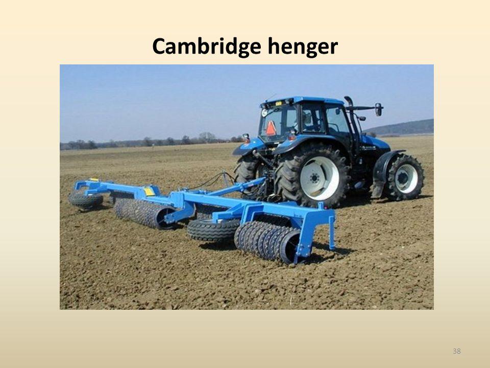 Cambridge henger 38