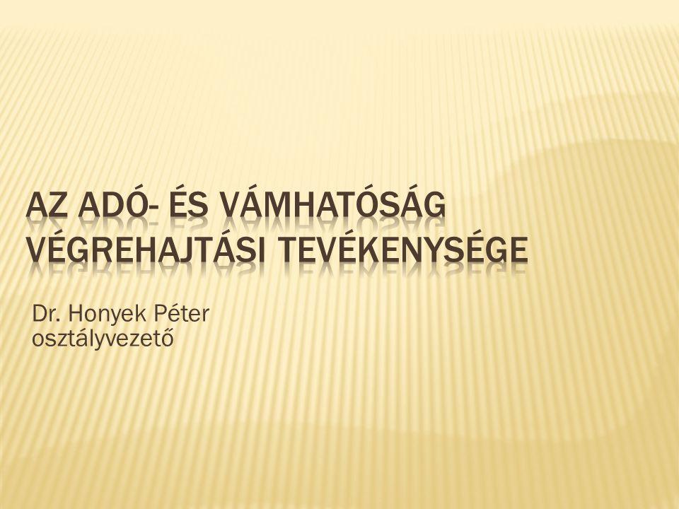 Dr. Honyek Péter osztályvezető