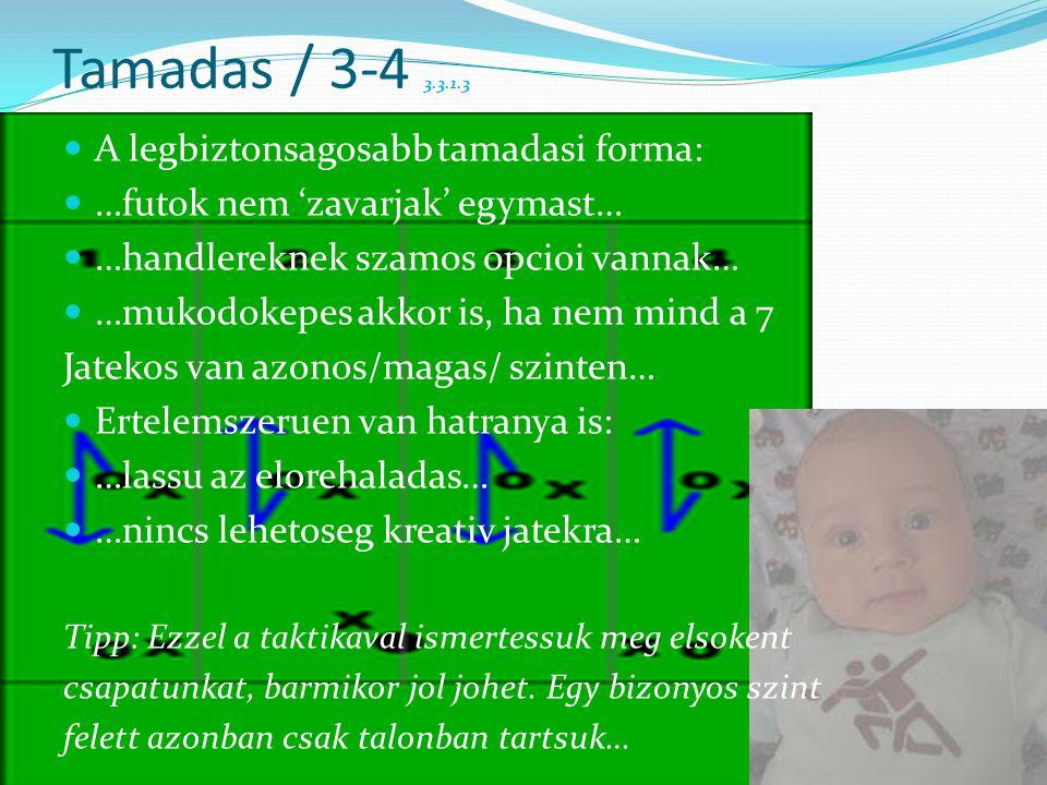 Tamadas / 3-4 3.3.1.3  A legbiztonsagosabb tamadasi forma:  …futok nem 'zavarjak' egymast…  …handlereknek szamos opcioi vannak…  …mukodokepes akko