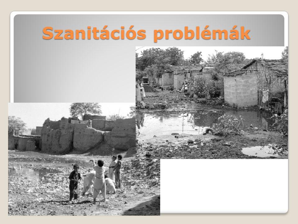 Szennyvíztisztítás és elhelyezési megldások Központosított rendszer (Szennyvízgyűjtés és tisztítás)  Térségi szennyvíztisztító  Természetes szennyvíztisztítók ()  Természetes szennyvíztisztítók (wetland, szennyvíztavak) Decentralizált rendszerek(tisztítás helyben)  Szennyvíz tározók (tisztítás az elszállítást követően)  Oldómedencék + szikkasztóágyak  Szennyvíztisztító kisberendezések(eleveniszapos, fixfilmes tisztítók, membrántechnológia) Befogadó: többnyire felszíni víz Talaj (talajvíz)