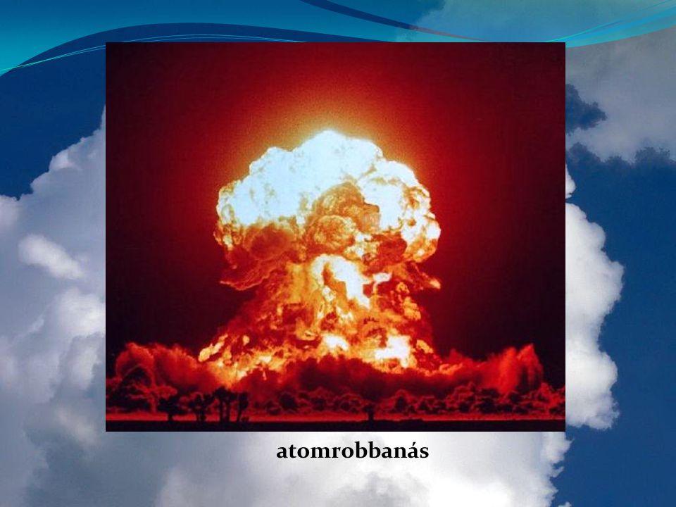 atomrobbanás