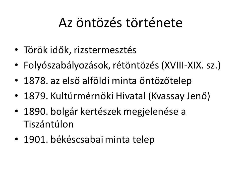 Az öntözés története • 1937.évi XX. Tv.