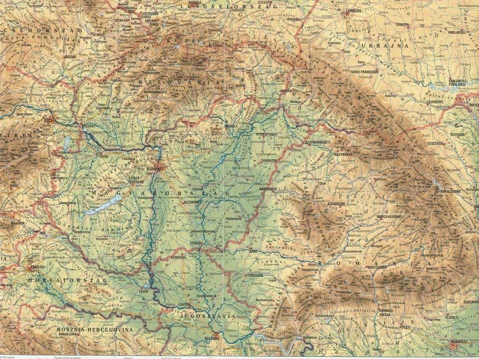 Mezőgazdaságilag művelhető terület: 5,8 millió ha A szántó terület: 4,5 millió ha Éves csapadék: 600-800mm - 500-600mm/év Napsütéses órák száma: 1700-2100 óra/év ÓCEÁNI FÖLDKÖZI-TENGERI KELET-EURÓPAI, SZÁRAZFÖLDI