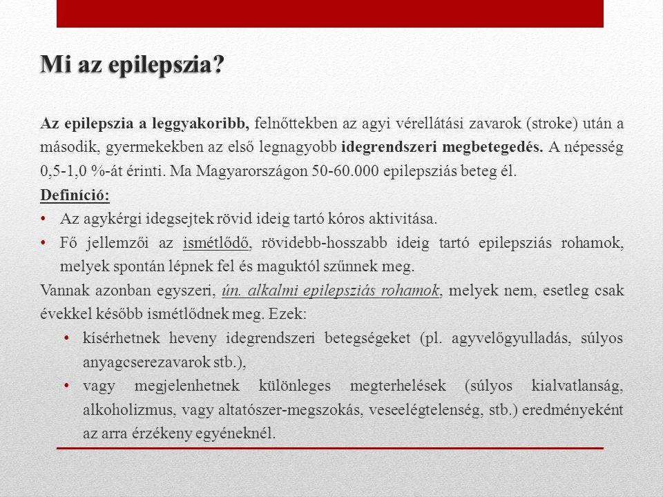 Az epilepszia nem egységes megbetegedés.