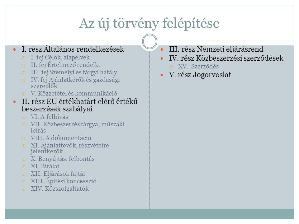 2011.évi CLXXXVIII. törvény Magyarország 2012. évi központi költségvetésér ől Értékhatárok   70.