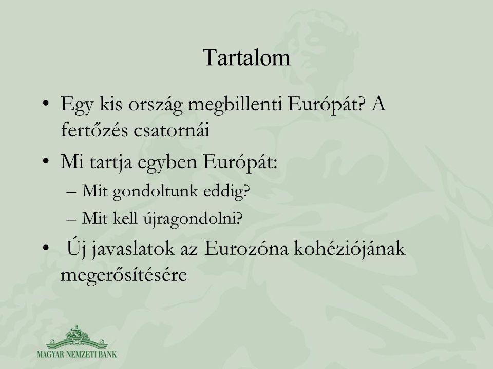 Tartalom •Egy kis ország megbillenti Európát.
