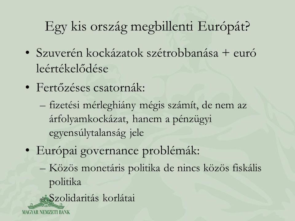 Egy kis ország megbillenti Európát.